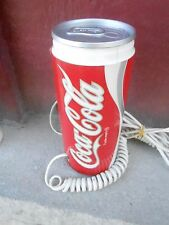 Vintage Coca Cola Can Novelty Telephone  (NBS3)
