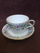 Aynsley Wild Tudor Tea Cup And Saucer