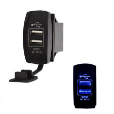 Dual Port USB Outlet 5V phone Charger for Truck Sand Rail Car Buggy UTV Tractor