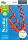 11+ Practice Test Papers Book 2, inc. Audio Download: for the CEM tests (Letts 1