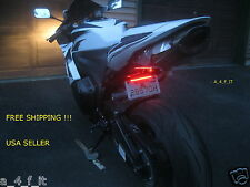 MOTORCYCLE CHOPPER LED INTEGRATED TURN SIGNAL BLINKER BRAKE LITE TAILLIGHT