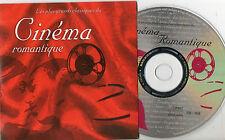 CD CARTONNE 15T LES PLUS GRANDS CLASSIQUES DU CINEMA ROMANTIQUE. TRES BON ETAT