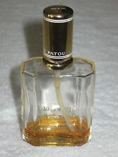 Vintage Jean Patou Eau De Joy Spray Perfume Bottle EDP 1 1/2 OZ - Open/Trace