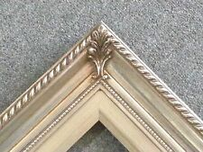 """3.25"""" Silver Wood Antique Picture Frame photo art gallery 36x24 296S"""