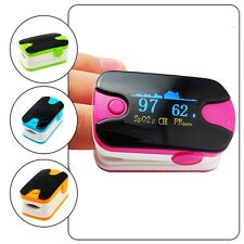 Finger Pulse Oximeter  Audio Alarm Pulse Sound Oximetery SPO2 Meter Purple CEFDA