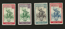 1941 WWII Era Portugal Mozambique King John on Horseback Civilization to Africa