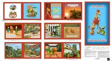 Quilting Treasures ~ DINOSAUR TRAIN ~ BUDDY ~ 100% Cotton Fabric oft Book Panel