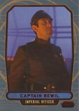 """Star Wars Galactic Files 2 - #501 Red Parallel Card """"Captain Bewil"""" #30/35"""