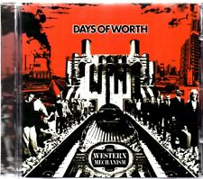DAYS OF WORTH - THE WESTERN MECHANISM - CD ALBUM - MINT