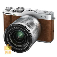 NEW BOXED FUJIFILM X-A1 XA1 + XC 16-50mm F/3.5-5.6 OIS LENS LENS KIT / BROWN