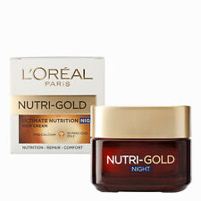L'Oreal Loreal Nutri Gold Ultimate Nutrition Rich Night Cream for All Skin Types