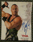 RARE ROB VAN DAM AUTO SIGNED 8 x 10 PHOTO TNA WRESTLING SWEET