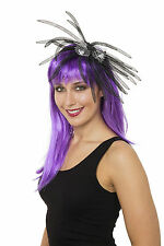 SPIDER HEADBAND WITH LONG LEGS HALLOWEEN WOMEN FANCY DRESS ACCESSORY