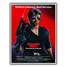 COBRA STALLONE METAL SIGN WALL PLAQUE Retro Film Movie Advert poster art print