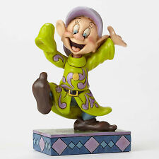 Jim Shore Disney Traditions Snow White Dopey Dance Dwarf Figurine 4049624 NEW
