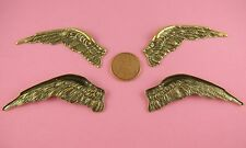 ANT BRASS VINTAGE DESIGN FALLEN ANGEL WINGS PAIR L/R - 2 PC(s)