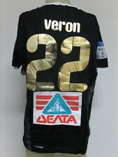 MAGLIA INDOSSATA MATCH WORN SHIRT PAOK VERON GREECE
