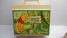 VINTAGE SEARS WINNIE THE POOH VINYL RECORD PLAYER
