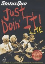 "STATUS QUO ""JUST DOIN IT LIVE"" DVD NEUWARE"