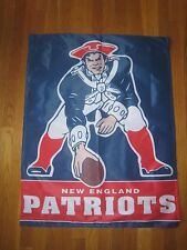 Throwback New England Patriots Flag/Banner-NIP & (1) Pat's Decal
