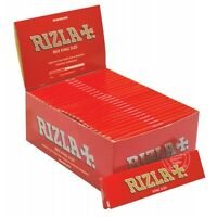 10 BOOKLETS RIZLA RED KING SIZE SLIM EXCLUSIVE SMOKING PAPERS