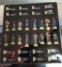 NIB HISTORY CHANNEL CIVIL WAR CHESS SET PIECES  HAND PAINTED BOARD NOT INCLUDED