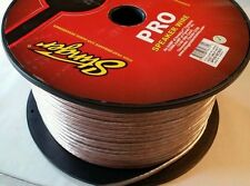 Stinger 16 gauge clear ofc PRO speaker wire 100 feet awg SPW516c copper wire