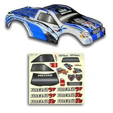 Redcat Racing 1/10 Truck Body Blue and Silver for Volcano Part # 18801