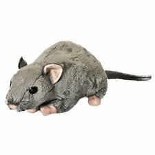 31cm Living Nature Rat with Squeak Soft Toy