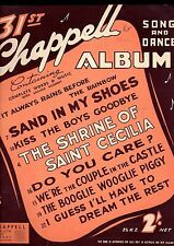 31st Chappell Album HITS Sheet Music Book Piano Keyboard KISS the BOYS GOODBYE +