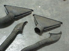 1957 57 Ford Lincoln Premiere Capri Set of 4 Defrost Vents, some with hoses