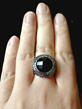 Large antique gemstone rings