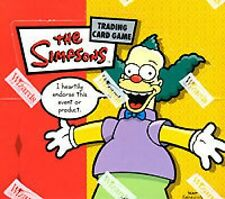 2x Boxes The SIMPSONS Booster Box 36ct Pack WOTC Trading card game SEALED!