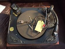 Garrard RC 88 Phonograph with Wood Base, Shure M7D Cartridge, 2 spindles WORKING