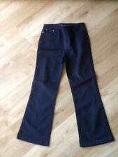 Girls Maine navy trousers age 8