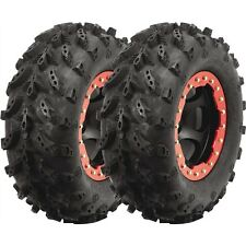 22x8-10 INTERCO SWAMP LITE ATV UTV MUD TIRES (SET OF 2) 22x8x10 22-8-10