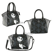 Loungefly Disney The Nightmare Before Christmas Jack Pinstripe Satchel Purse NEW