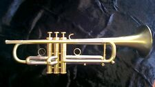Kanstul 1600  Trumpet -  Brushed Lacquer!