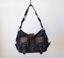 JUICY COUTURE Leather Studded Shoulderbag