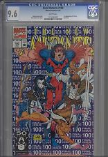 New Mutants #100 CGC 9.6 1991  Marvel Comic Last Issue