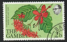 GAMBIA SG371 1977 FLOWERS & SHRUBS 2b FINE USED