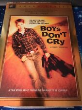 Boys Don't Cry   **  GAY INTEREST TRANSGENDER LIKE NEW  INSERT And Slipcover