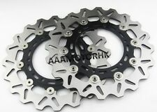 FRONT BRAKE ROTOR DISC FOR YAMAHA TDM900 VMAX1200 V-MAX YZF600 YZF1000 2 discs