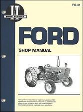 Ford Tractor Repair Manual Series 2000, 3000, 4000 (1975 and earlier)