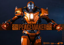 HOT TOYS IRON MAN MARK XXXVI PEACEMAKER 1:6 FIGURE EXCLUSIVE ~Sealed Brown Box~