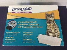 Litter Maid 18 Count Waste Receptacles Disposable Durable Odor Containment