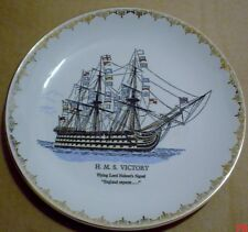 Lord Nelson Pottery Collectors Plate H.M.S. VICTORY