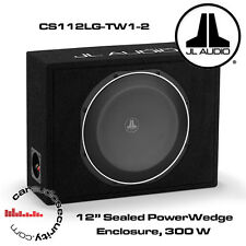 "JL Audio cs112lg-tw1-2 PowerWedge 12 ""TW1 SUBWOOFER IN CUSTOM SIGILLATO BOX 300W"