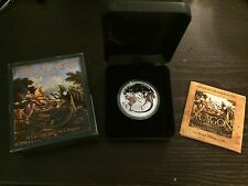 Dragons of Legend - St George and the Dragon 2012 1oz Silver Proof Coin
