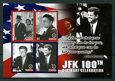 Grenada 2017 MNH JFK John F Kennedy 100th Birthday 4v M/S I US Presidents Stamps